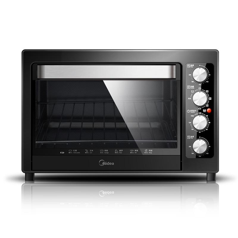 美的 黑色全國聯保機械式臥式 T3-L381B電烤箱