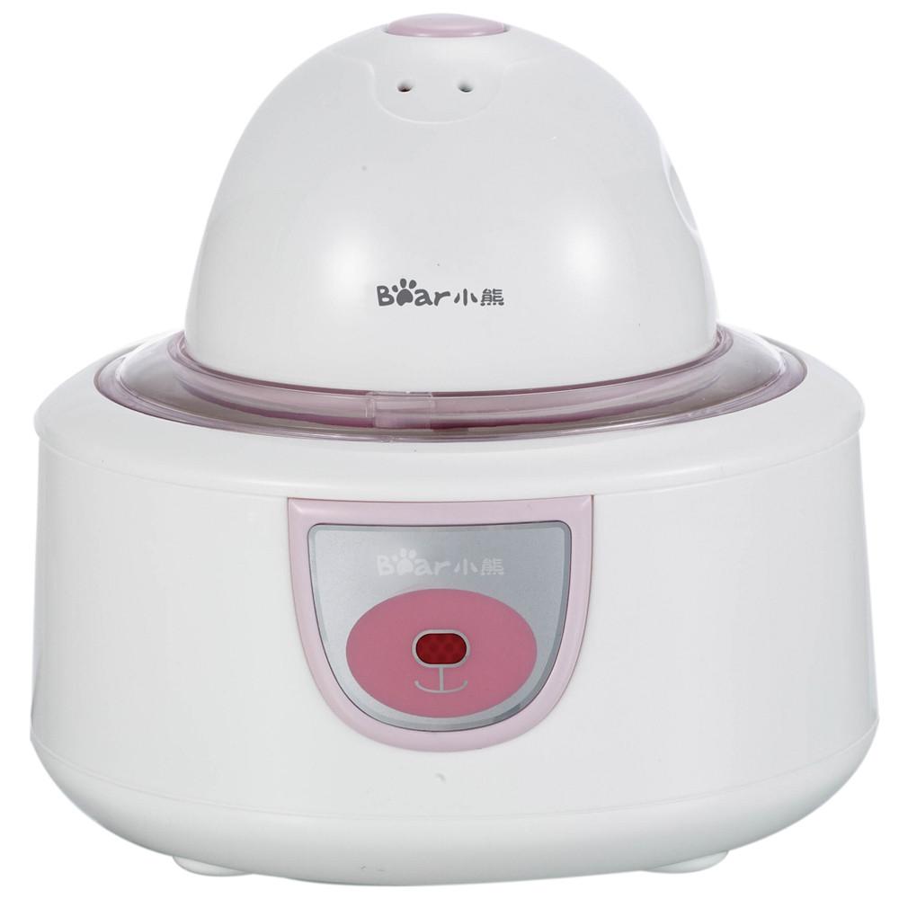 小熊 粉白色酸奶冰淇淋塑料機械式 酸奶機