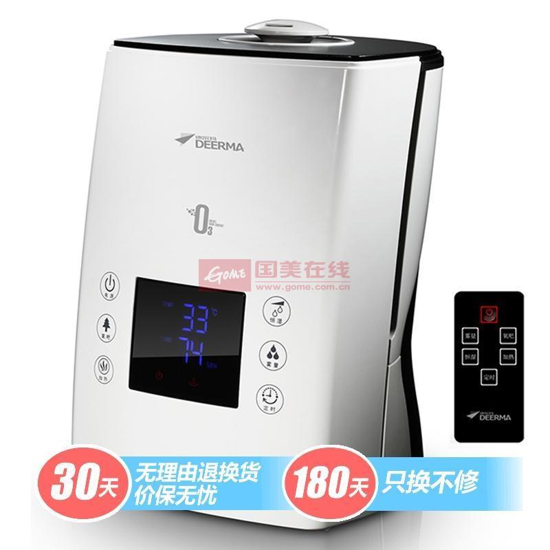 德爾瑪 白色交流電中端高性價比遙控式5L以上30㎡以上<36db超聲波 加濕器