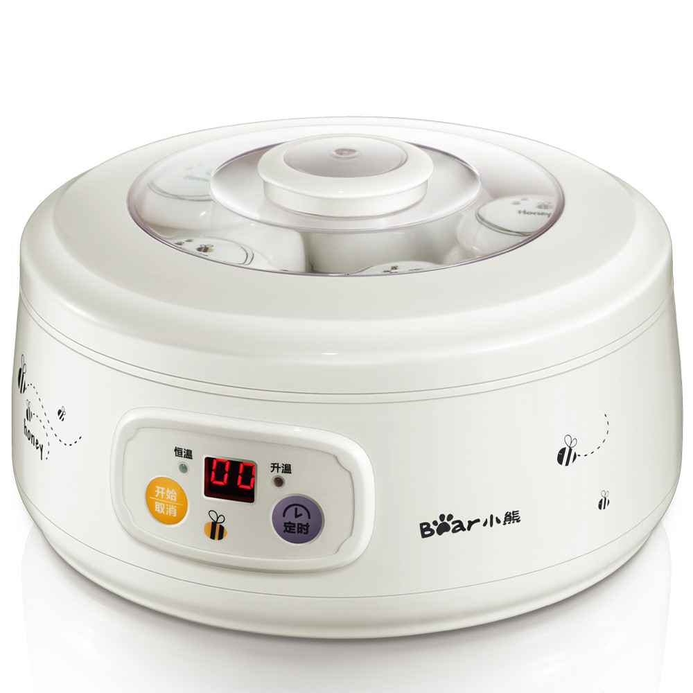 小熊 白色酸奶陶瓷電腦式 酸奶機