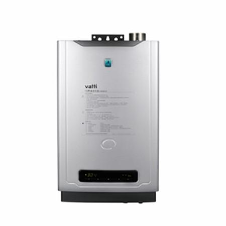 華帝 強排式液化氣/天然氣故障自檢21KW12升/分電脈沖自動點火LED冷凝電腦版1級 熱水器