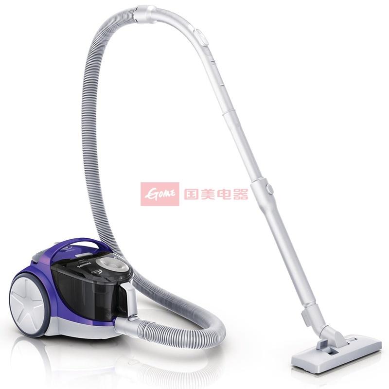 飛利浦 紫色干用塵桶/旋風塵桶臥式吸塵器 吸塵器