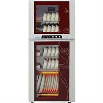 红色125℃二级钢化玻璃机械控制 ZTP118F-3(H)消毒柜