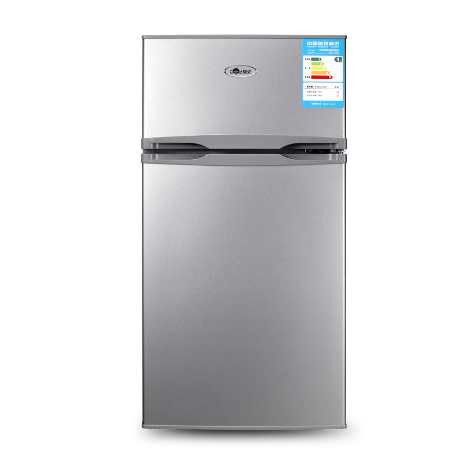 康拜恩 左开门双门定频一级冷藏冷冻冰箱 冰箱