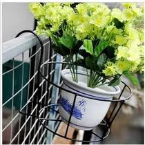 黑色白色焊接铁金属工艺箱框结构移动欧式 花架