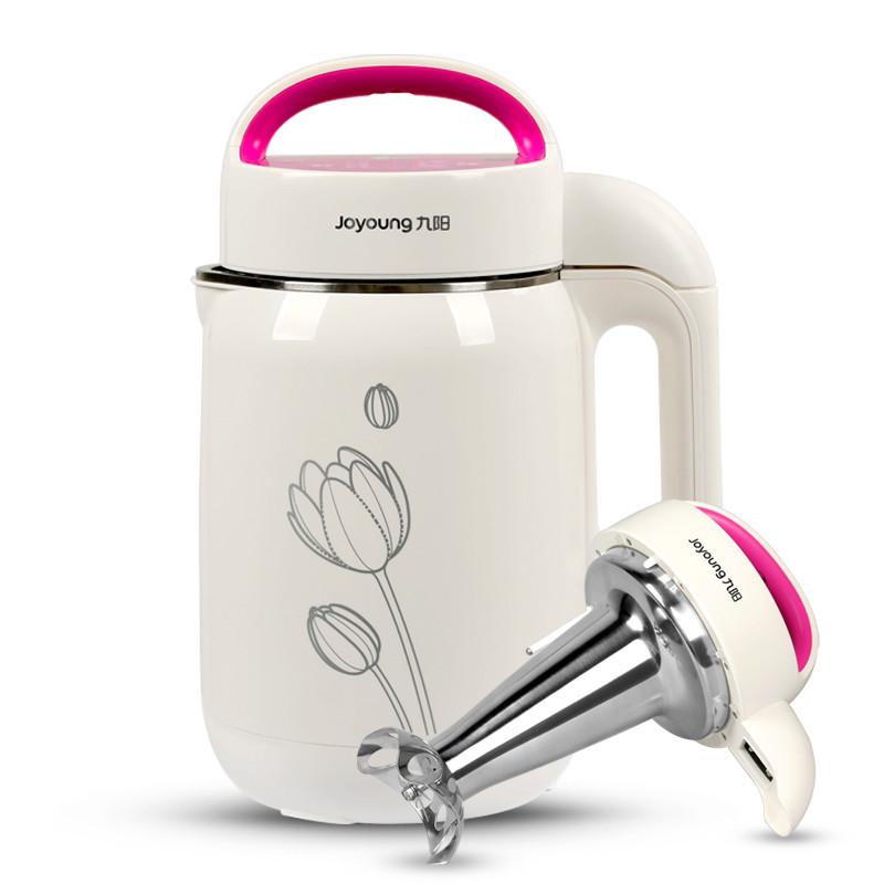 九陽 白色干豆濕豆米糊五谷奶茶全國聯保不銹鋼立體環繞加熱 豆漿機