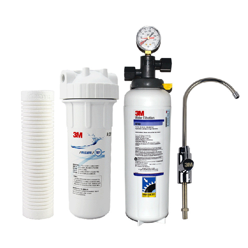 3M 无0.2微米2级厨房饮用水(直接饮用)市政自来水净水机 净水器