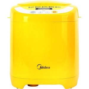 美的 黄色单搅拌叶片塑料50Hz 面包机