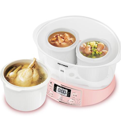 天际 粉红色白瓷全国联保煲汤煮粥炖电脑式 电炖锅