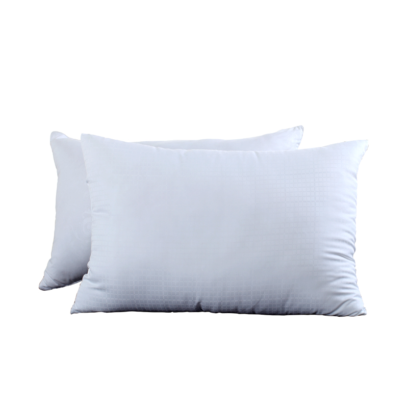 丹儷 白色單孔纖維枕長方形 枕頭
