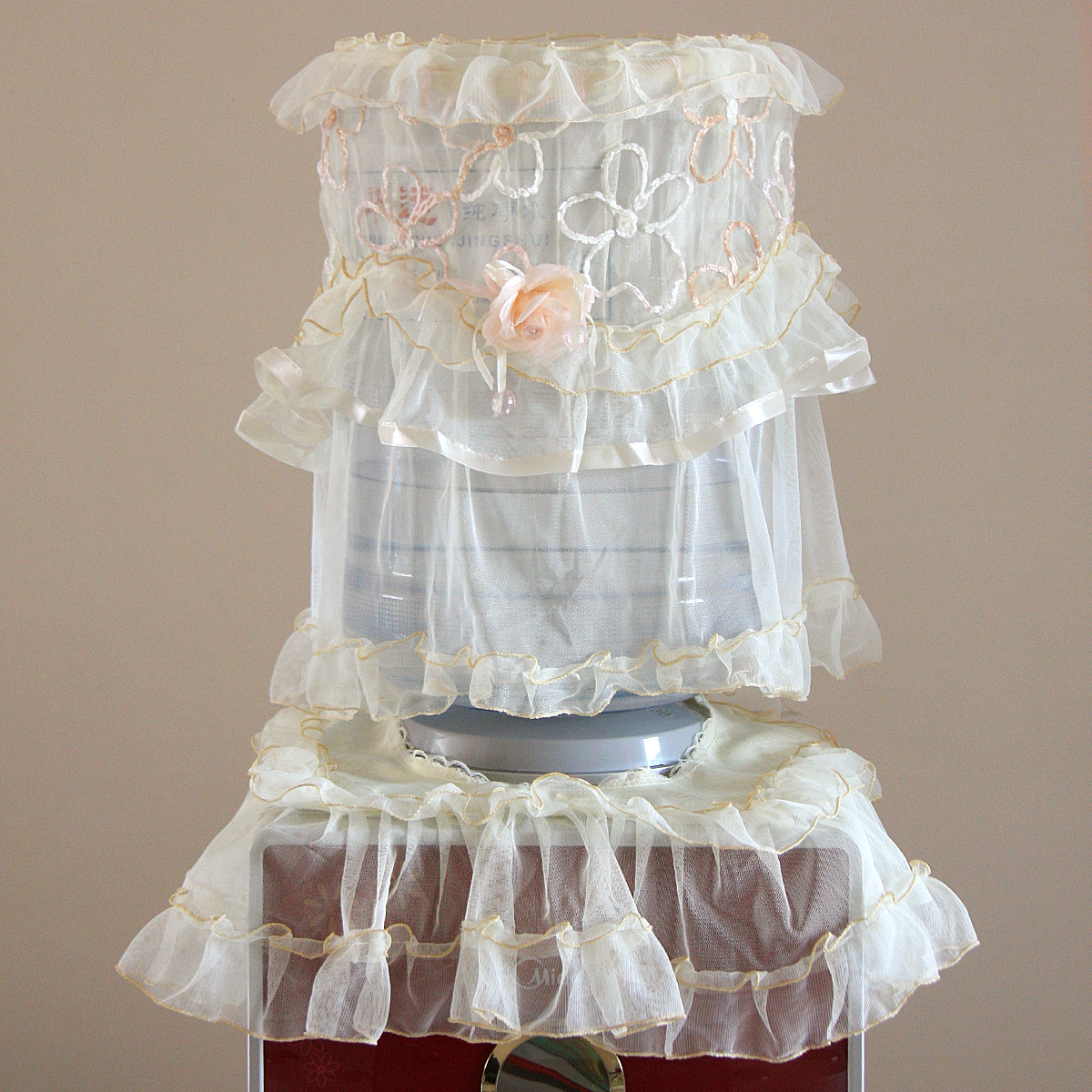 一朵蕾丝韩式--防尘罩
