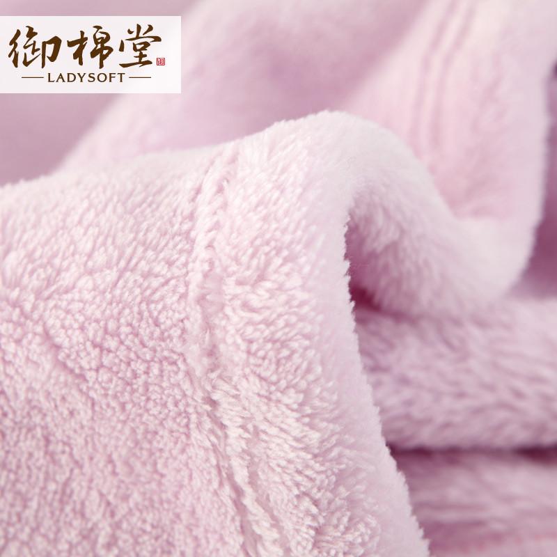 -夏季纯色田园毛毯