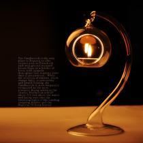 玻璃块状蜡烛欧式 zt004烛台