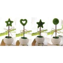 圆球型实心五角星心型 仿真植物