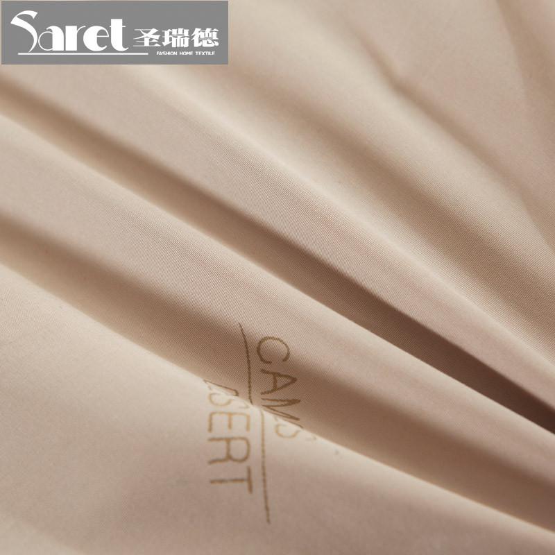 圣瑞德新一代驼绒被贴布绣冬季磨毛斤精品驼毛被被子