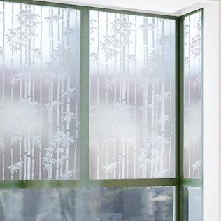 安曼 風景 竹子(玻璃貼膜)玻璃貼膜