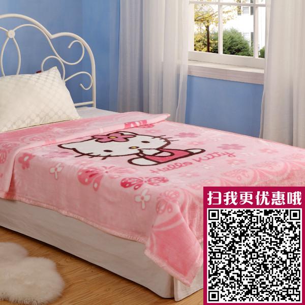 GUJI 古吉 拉舍爾毛毯夏季卡通動漫簡約現代 毛毯