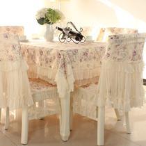 蕾丝植物花卉田园 桌布