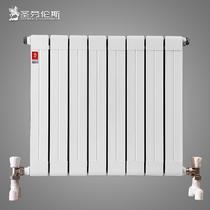 铜铝复合普通挂墙式集中供热 斯图亚特ST75-600暖气片