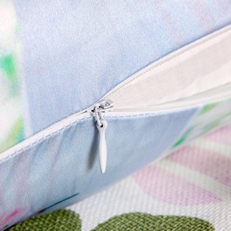 鹿子百合布魏晨-靠垫棉人物简约现代靠垫