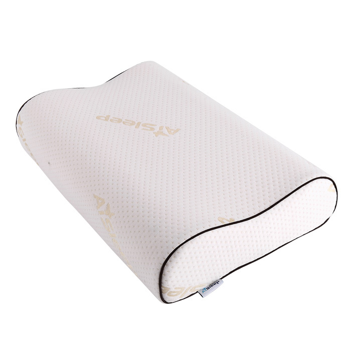 睡眠博士一等品涤棉记忆棉长方形-枕头