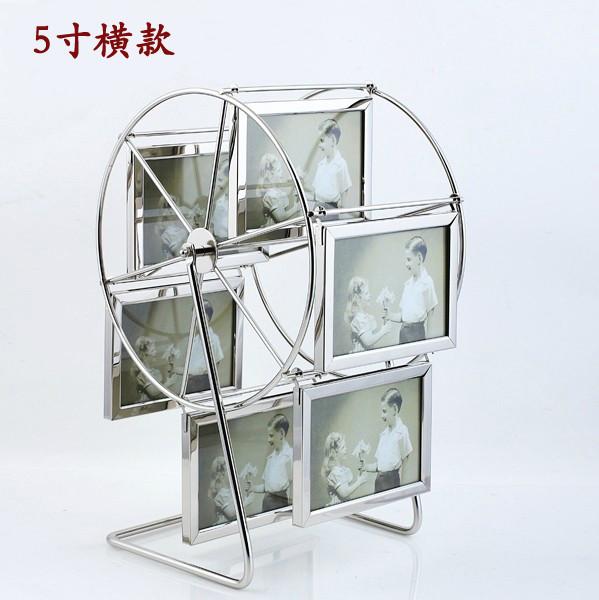 鑫奇美 銀色金屬相架長方形歐式 相框