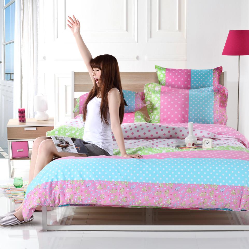 多喜爱床笠款床单款简约现代涂料印花床单式简约风床品件套四件套