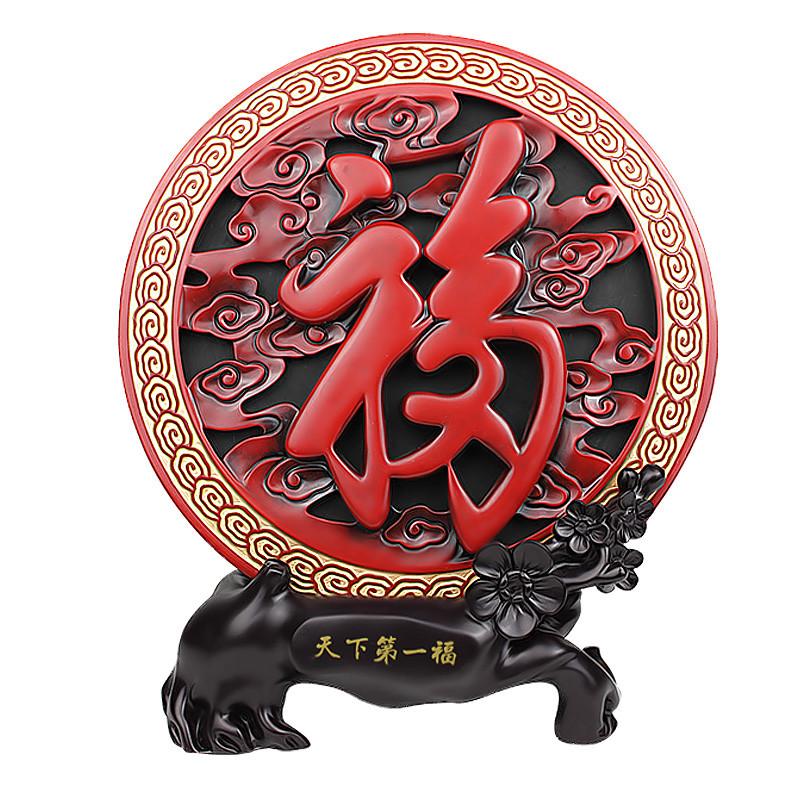 千艺坊 活性炭桌面摆件姻缘现代中式 摆件