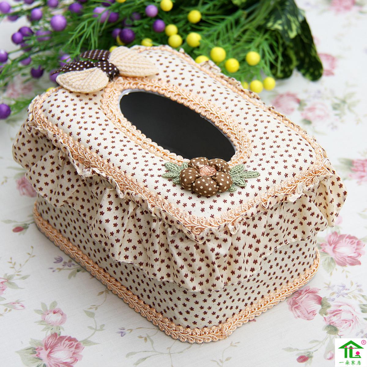 一朵--纸巾盒