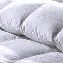 白鹅绒冬季普通全棉羽绒 被子