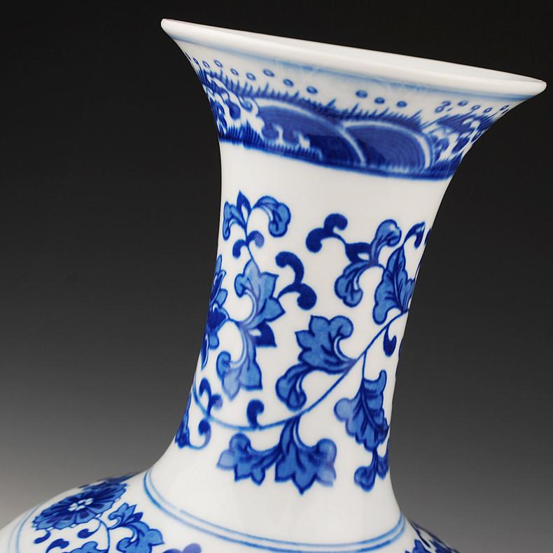 鼎眾陶瓷 陶瓷臺面DZ34524花瓶簡約現代 花瓶