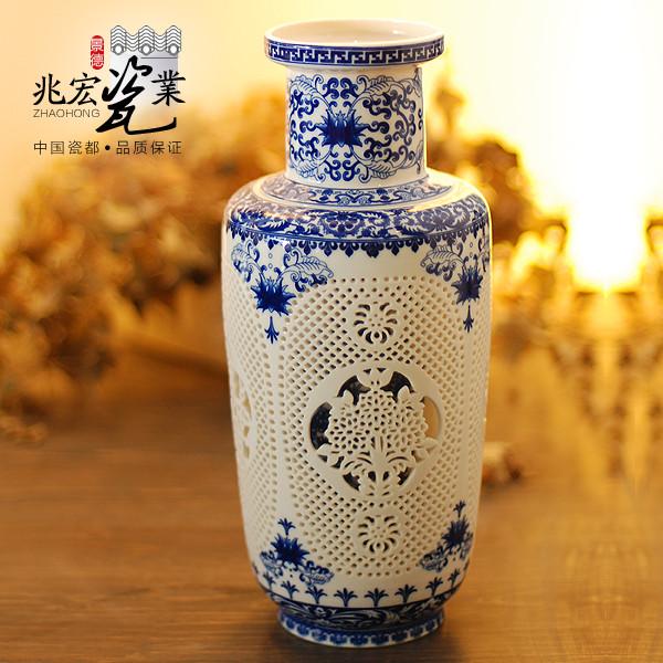 兆宏陶瓷台面花瓶小号新古典花瓶