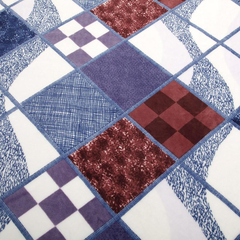 不覺曉 2%-3%珊瑚絨毯春秋條紋 BJXBT-030毛毯