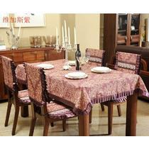混纺植物花卉欧式 桌布