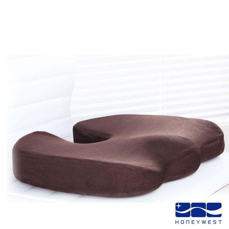 漢妮威 咖啡色藏青色純色簡約現代 坐墊