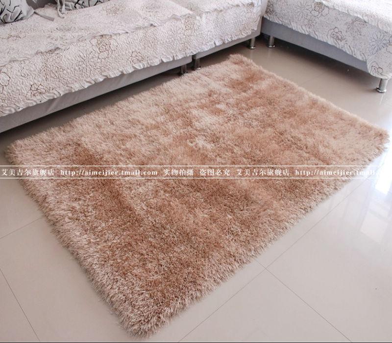 艾美吉尔化纤可手洗欧式涤纶纯色长方形欧美机器织造地毯