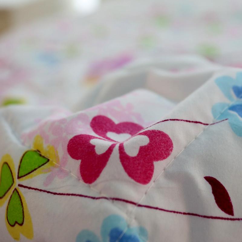 裕华思羽绗缝超细纤维空调被夏凉被磨毛涤纶化纤被子空调被