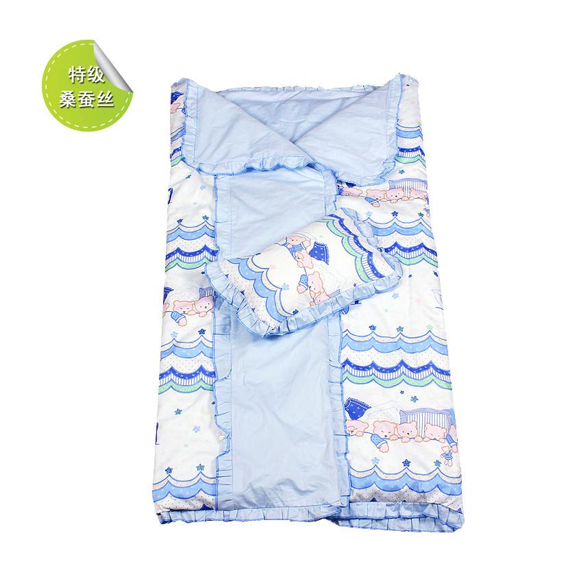 綠中緣 棉布蠶絲 LTSD02嬰兒睡袋