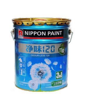 立邦漆白色面漆哑光立邦竹炭三合一涂料