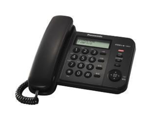 松下 黑色双制式兼容;有绳电话 电话机