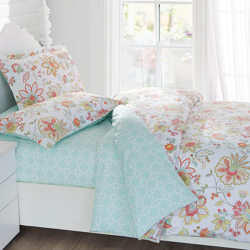 喬德 斜紋條紋床單式歐美風 床品件套四件套