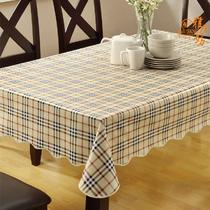 PVC格子欧式 桌布