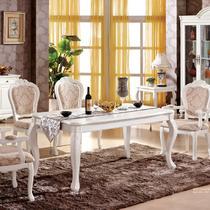 组装框架结构橡木移动植物花卉长方形欧式 816#餐桌