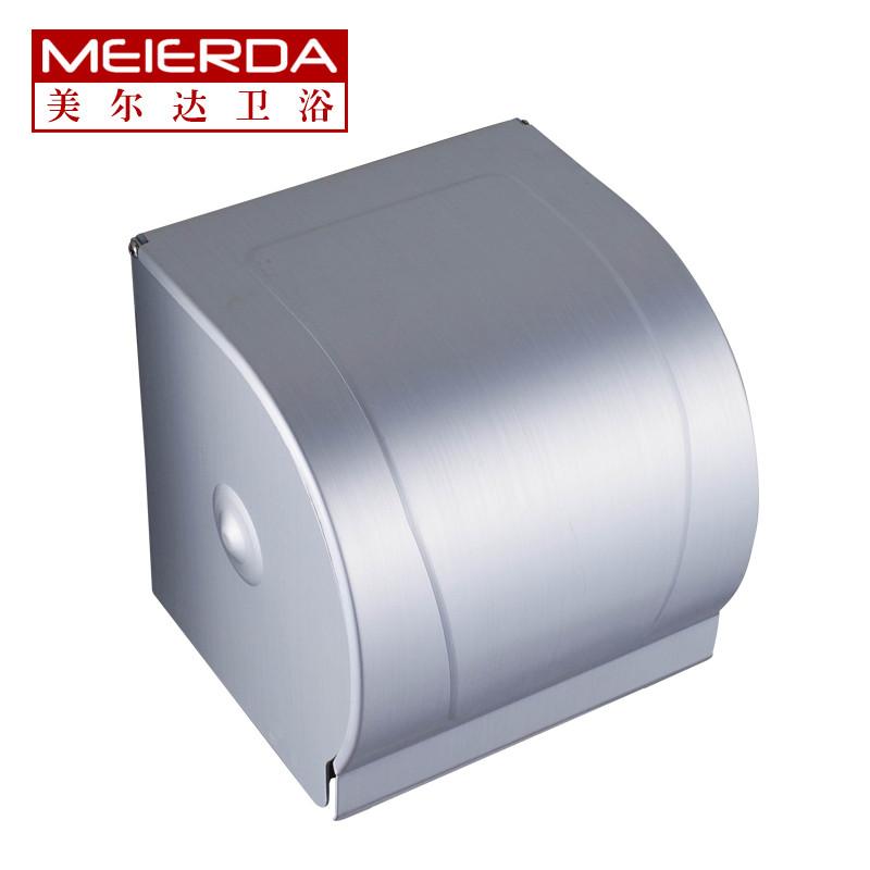 美尔达 太空铝 Z009太空铝置物架纸巾架