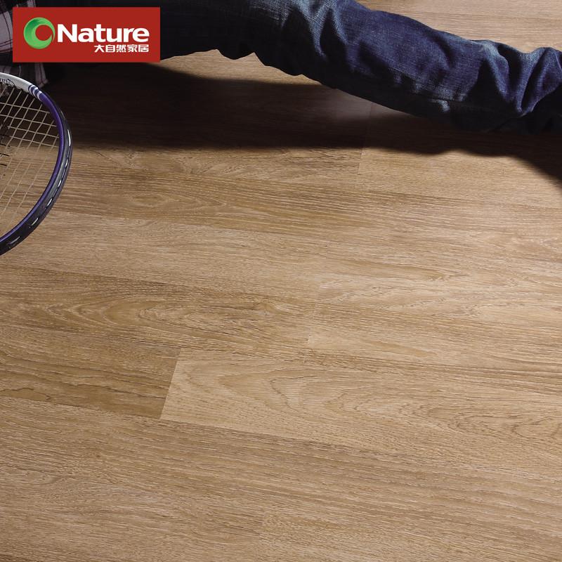大自然 高密度纤维板单锁口 LZ807 大自然橡木地板
