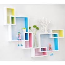 人造板特殊造型密度板/纤维板木质工艺拼板抽象图案成人田园 宜尚空间创意格子烤漆隔板架宜家墙壁架格子壁挂壁柜墙柜壁柜