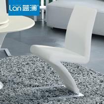 金属钢皮革多功能成人简约现代 B06餐椅