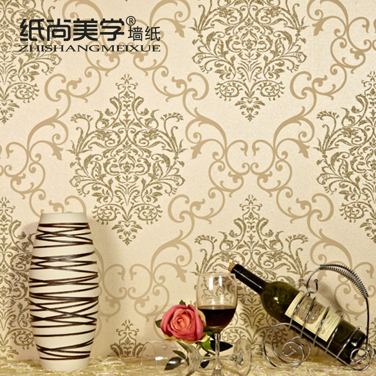 纸尚美学 压花有图案客厅欧式 GS50201墙纸