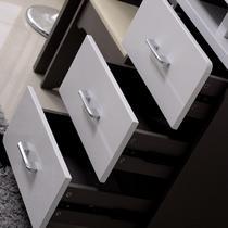 人造板散装密度板/纤维板PVC烤漆框架结构多功能成人简约现代 梳妆台