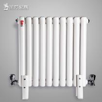 钢普通落地式集中供热 暖气片散热器
